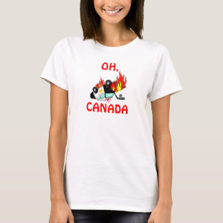 OH, CANADA - Vancouver Riots T-Shirt