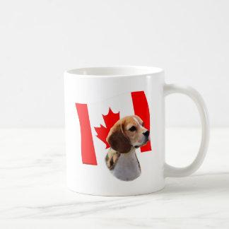 Oh Canadá… y beagles Tazas De Café