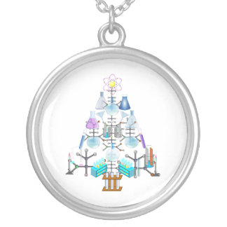 Oh Chemist Tree, Oh Christmas Tree Personalized Necklace
