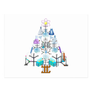 Oh Chemist Tree, Oh Christmas Tree Post Cards