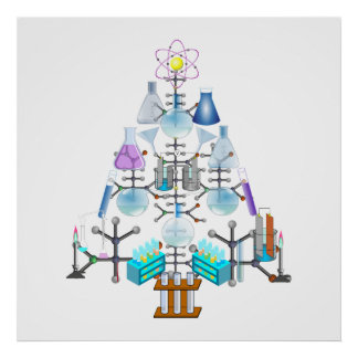 Oh Chemist Tree, Oh Christmas Tree Posters