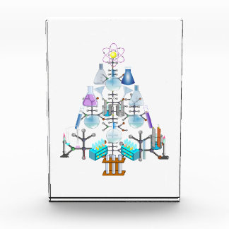 Oh Chemistry, Oh Chemist Tree Acrylic Award