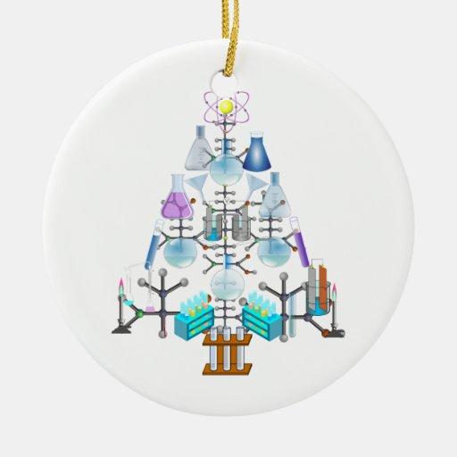 Oh Chemistry Oh Chemist Tree Ceramic Ornament Zazzle