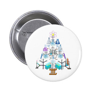 Oh Chemistry, Oh Chemist Tree Pinback Button