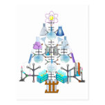 Oh Chemistry, Oh Chemist Tree Postcard