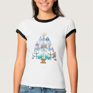 Oh Chemistry, Oh Chemist Tree T-Shirt