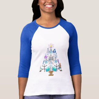 Oh Chemistry, Oh Chemist Tree T-Shirt