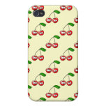Oh, Cherry Up! Cherries Pattern iPhone 4 Case