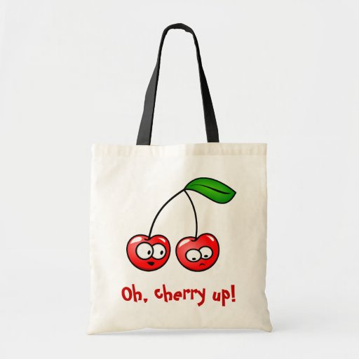 Oh, Cherry Up! Cherries Tote Bag