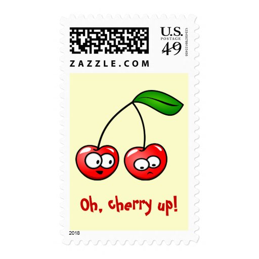 Oh, Cherry Up! Cherries US Postage Stamp