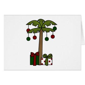 Oh Christmas Palm Tree Card