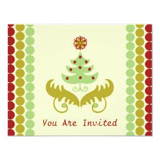 Oh Christmas Tree 4.25x5.5 Paper Invitation Card