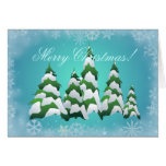 OH CHRISTMAS TREE by SHARON SHARPE Greeting Cards