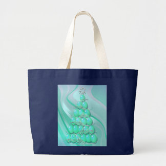 OH CHRISTMAS TREE by SHARON SHARPE Large Tote Bag