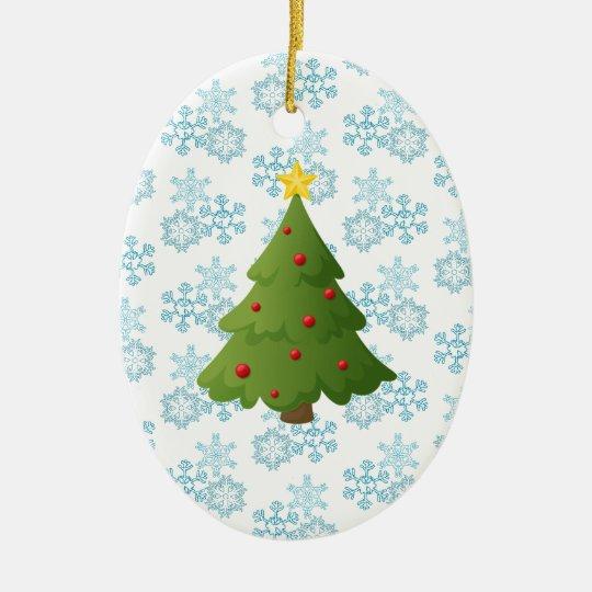 Oh Christmas Tree Ceramic Ornament