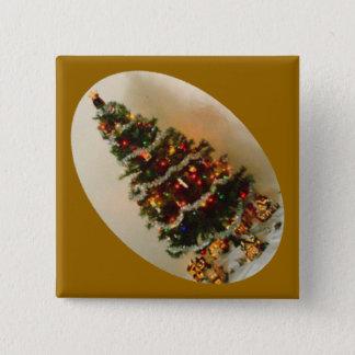 Oh, Christmas Tree Diamond Button