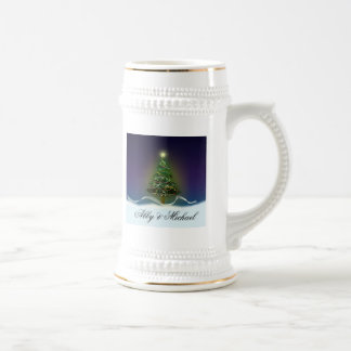 Oh Christmas Tree - First couple's Christmas Beer Stein