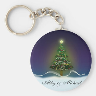 Oh Christmas Tree - First couple's Christmas Keychain