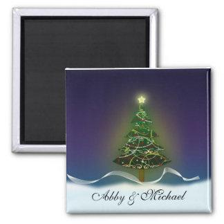 Oh Christmas Tree - First couple's Christmas Fridge Magnets