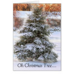 Oh Christmas Tree Greeting Cards