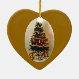 Oh Christmas Tree Heart Ornament