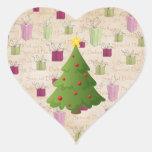 Oh Christmas tree Heart Sticker