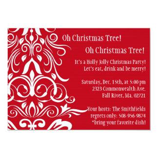 Oh Christmas Tree! Holiday Party Invitation