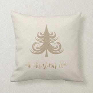 Oh Christmas tree holiday pillow