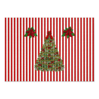 Oh Christmas tree 5x7 Paper Invitation Card