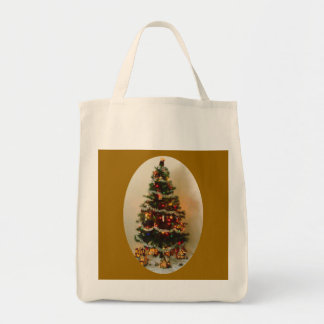 Oh, Christmas Tree Organic Grocery Tote Grocery Tote Bag