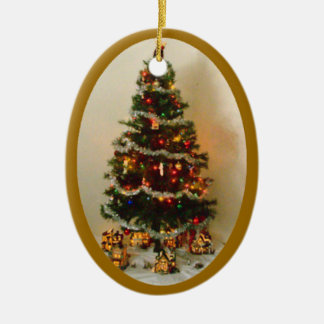 Oh Christmas Tree Oval Ornament