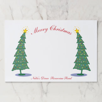 Oh! Christmas Tree Paper Placemat