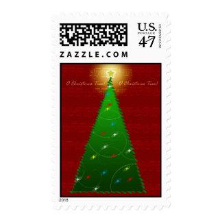 Oh Christmas Tree Postage Stamp