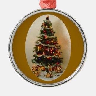 Oh Christmas Tree Premium Round Ornament