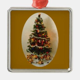 Oh Christmas Tree Premium Square Ornament