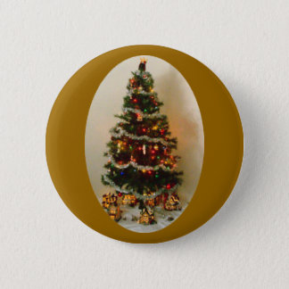 Oh, Christmas Tree Round Button