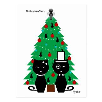 Oh, Christmas Tree, Ryoko Postcard
