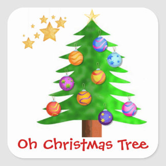 Oh Christmas Tree Stickers