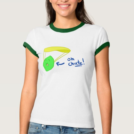 """Oh Chute!"" Lime- Women's Tee"
