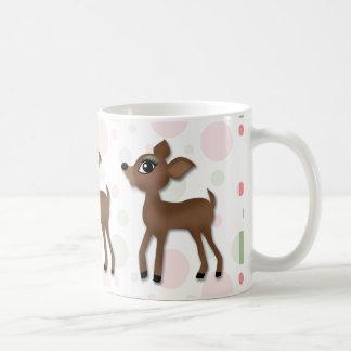 Oh ciervos Girll Taza De Café