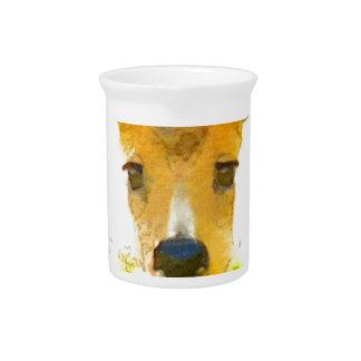 Oh ciervos jarra para bebida