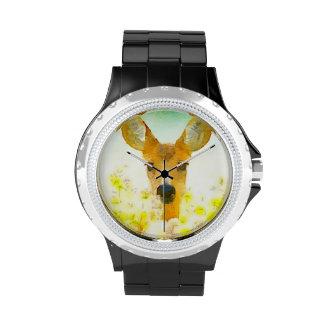 Oh ciervos reloj de mano