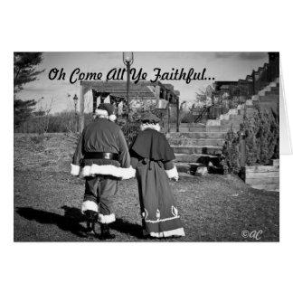 Oh Come All Ye Faithful... Card