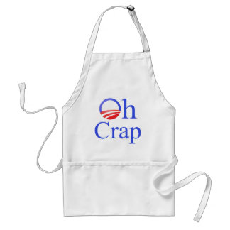 Oh Crap anti-Obama Shirts and Gifts Adult Apron