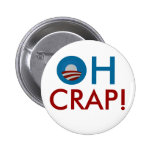 Oh Crap! Button Pinback Buttons