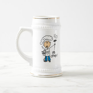 Oh Crap Funny Barbecue Gift Beer Stein