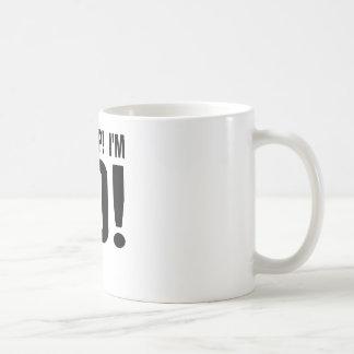 Oh Crap! I'm 80! 80th Birthday Classic White Coffee Mug