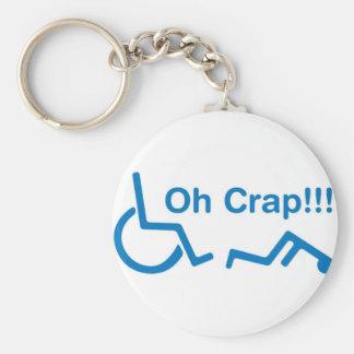 oh crap keychain