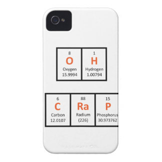Oh Crap Periodic Table Case
