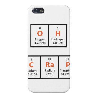 Oh Crap Periodic Table Case iPhone 5 Cases
